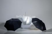 Reflektor Schirme im Studio